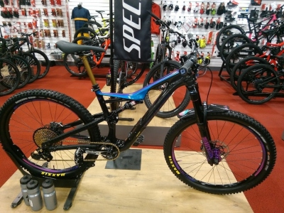 2018 Specialized Mens Turbo Levo FSR Expert Carbon 6 Fattie 29