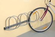 Držák na kola - stěnový pro 3 kola - šikmý