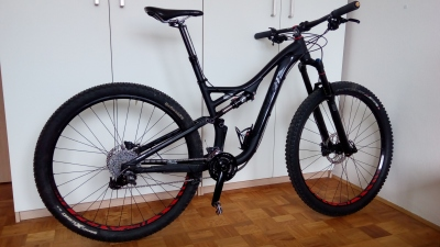 Specialized Stumpjumper FSR Comp Evo 29 - black