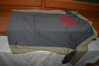Cyklistické dres Axon BIKEDRAGON S šedá