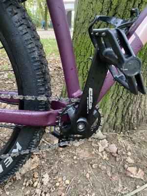 Dámské horské kolo Trek Roscoe 6 WSD - stav nového kola (najeto cca 100 km)