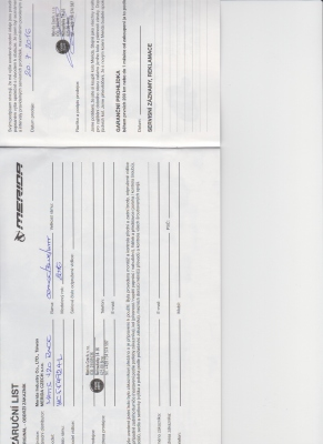 Prodej detske kolo MERIDA MATTS J20, cca 6 let s prehazovackou